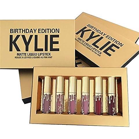 Kylie Jenner Limited Birthday Edition Kylie Matte Liquid Lipstick Cosmetics