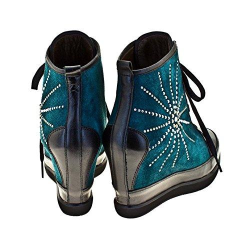 ROBERTO BOTELLA - <p>    Sneakers avec talon compensé   </p>    Vert - Combi3