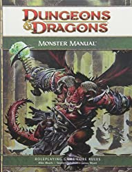 Monster Manual: A 4th Edition Core Rulebook (D&d Core Rulebook) (Dungeons & Dragons)
