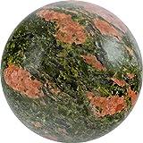 UNAKIT (Epidot) Edelsteinkugel ca. Ø 4,0 cm