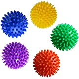 SelfTek Spiky Massage Ball1.Specifically designed to release tight and uncomfortable muscles, increase blood circulation and remove toxins.2.Gently roll the therapeutic balls in a circular or rocking motion, applying your preferred amount of pressure...