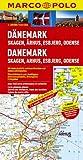 MARCO POLO Karte Dänemark, Skagen, Arhus, Esbjerg (MARCO POLO Karte 1:200000)