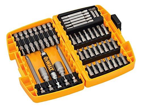 Set 45 piezas para atornillar DeWalt DT71702-QZ tipo Tough Case  Contenido: Puntas de atornillado 25mm  Phillips: PH1 x2, PH2 x2, PH3 x2  Plana: SL6, SL8  Pozidriv: PZ2 x6, PZ3 x5  torx: T10 x2, T15 x2, T25 x2, T30 x2 ...