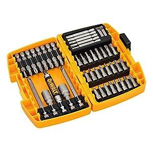 51URX9RcCZL. SS300  - DeWalt DT71702-QZ - Juego de 45 puntas para atornillar tipo Tough Case
