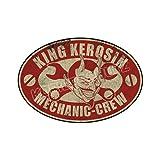 King Kerosin Mechanic Crew Aufkleber Sticker (30cm)