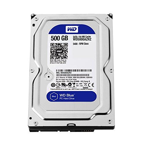 WD 500GB Internal Hard Drive (Blue)