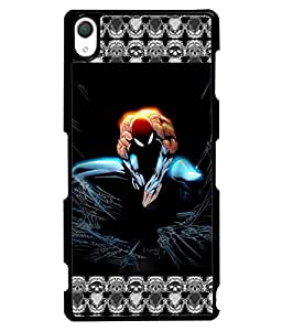 PrintVisa Crazy Designer Back Case Cover for Sony Xperia Z2 -D4736