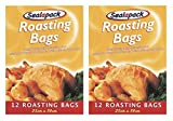 Picture Of 24 x Sealapack Turkey Chicken Meat Roasting Bags Oven Cooking Bags 25 x 38cm