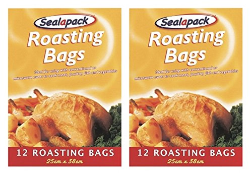 24-x-sealapack-turkey-chicken-meat-roasting-bags-oven-cooking-bags-25-x-38cm
