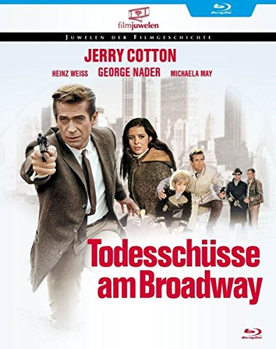 Jerry Cotton - Todesschüsse am Broadway (Filmjuwelen) [Blu-ray]