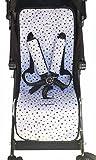 Universal-Kinderwagen Matte Black Star Janabebe®+ Schutz Geschirre