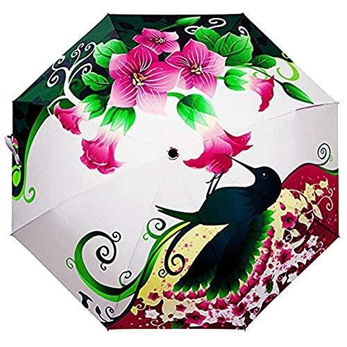 LifeWheel Herren Damen Outdoor Camping Leicht Taschenschirm Regenschirm Regen Sonnenschirm