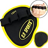 Power Grips/Palm-Grip/Ideal für Bodybuilding & Kraftsport/CP Sports Griffpads, Powerpad, Fitness-Pads