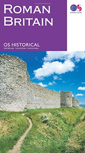 Price comparison product image Historical Roman Britain (Historical Map Guide)