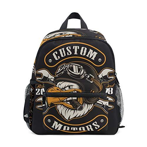 Kinderrucksack, leichte Vorschul-Tasche für Kinder, Mädchen, Jungen, American Eagle Design Tasche -