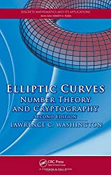 Elliptic Curves: Number Theory and Cryptography, Second Edition (Discrete Mathematics and Its Applications) by Lawrence C. Washington (2008-04-07)