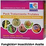 Pack tratamiento frutales (fungicida+aceite+insecticida)