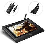 parblo coast1025,7cm IPS Digital Graphic Tablet Display Zeichnen Monitor mit schnurlose batterielosen Stift, 25,7cm Displayschutzfolie und 4PORTS USB3.0HUB