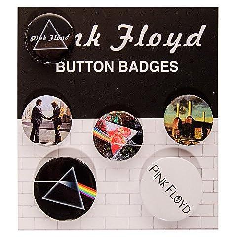 Pink Floyd Logo Badge Set De Pins Et Boutons