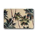 Personal Custom Palmen Fu?matten Doormat Outdoor Indoor 23.6