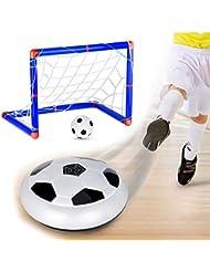 Cozywind Juego de Balón de Fútbol para Niños,Juguete de Fútbol,Incluye Portería (