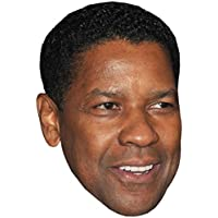 Denzel Washington Celebrity Mask, Card Face and Fancy Dress Mask