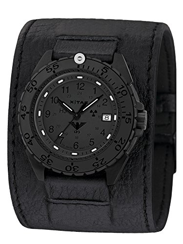KHS Enforcer Black Steel Xtac KHS Enfbsxt LK with Leather Strap Black
