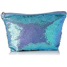Tous Bolsa M. K Shock Sequins Azul, Organizadore Mujer, 30x24x14 cm (W