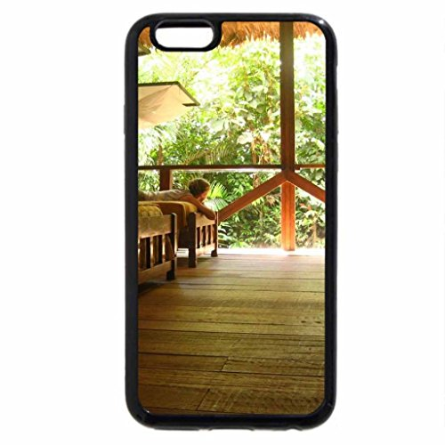 iPhone 6S / iPhone 6 Case (Black) Interior of a treehouse