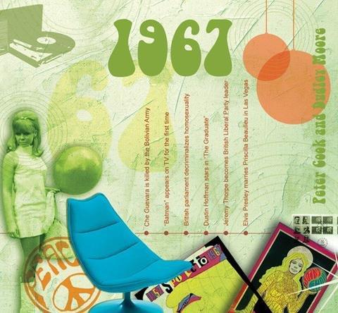 1967 Cadeaux Anniversaire - 1967 Graphique Clics CD et 1967 Carte De Voeux