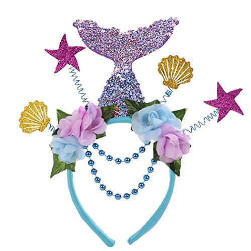 ZOYLINK Womens Party Haarreifen Glitter Stirnband Kostüm Stirnband für den - Glitter Womens Kostüm