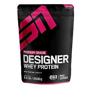 ESN Designer Whey Protein, Double Chocolate, 2,5 kg