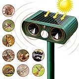 Suntop Animal Repeller Pet & Wild Animal Control, Solar Powered Outdoor Waterproof Infrared