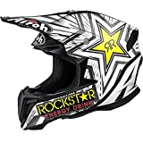 CASCO CROSS TWIST ROCKSTAR MATT AIROH NEW 2016 TG M