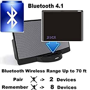 A2DP Bluetooth Music Receiver Adapter for Bose SoundDock Speakers- Extra Long Wireless Range up to 60 ft (Sale of 3rd Generation Model After 8/21/2013)