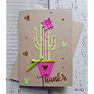 3D Popup-Dankeskarte