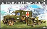 Academy 1/72 WWII US Ambulance & Tractor # 13403