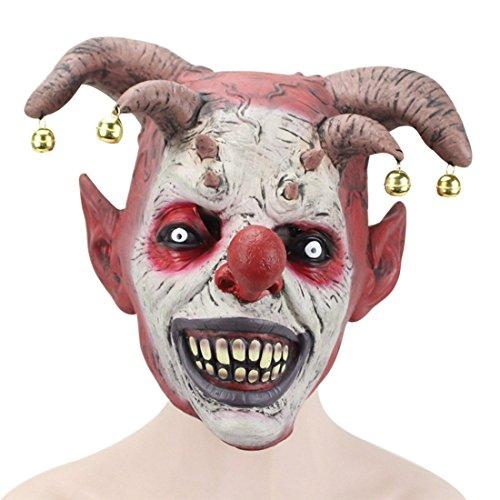 Jiyaru Halloween Head Zombie Mask Scary Costume Prop Horror Decor Party Cosplay  1