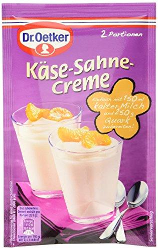 Dr. Oetker Käse-Sahne Creme, 11er Pack (11 x 63 g)