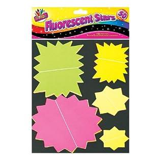 Artbox Leuchtsterne, verschiedene Farben (50Stück)