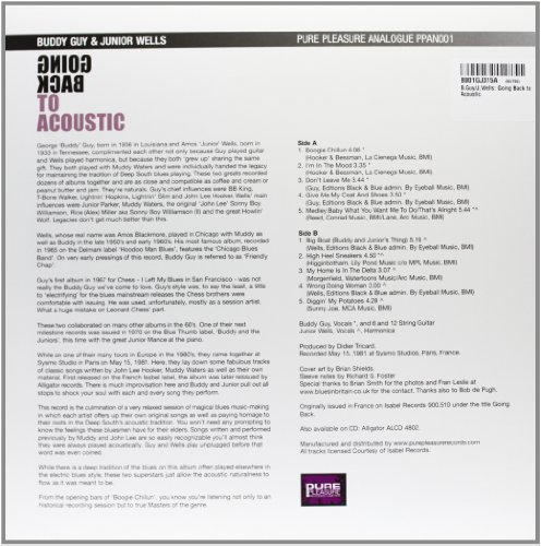 B.Guy/J.Wells: Going Back to Acoustic