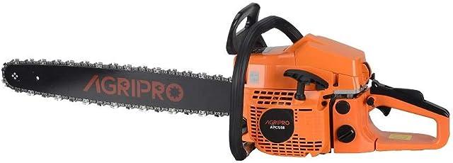 AgriPro 22 Inch Petrol Chain Saw 58 CC APCS58