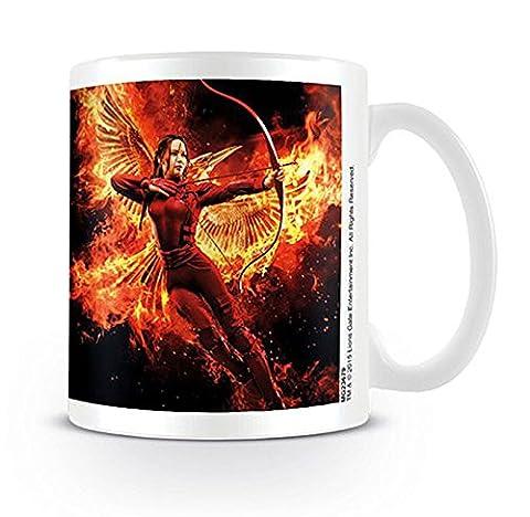 Die Tribute von Panem Tasse mit Katniss & Feuervogel /