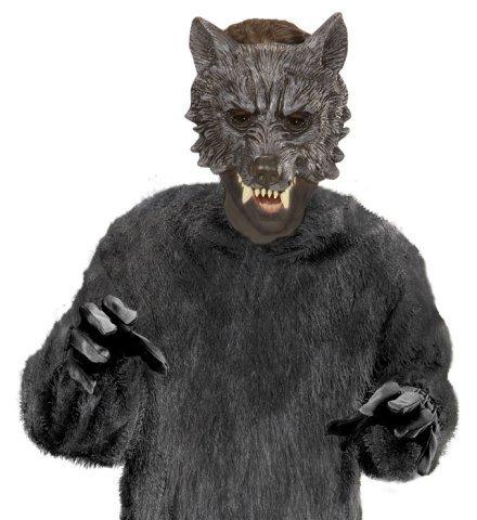 Werwolf Wolf Latex Maske Karneval Kinder (Werwolf Kostüm Junge)