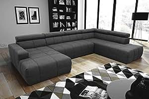 Dreams4home Wohnlandschaft Boris Sofa Couch Sofaecke