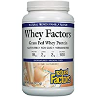 Natural Factors Whey Factors, Vanilla, 2-Pound