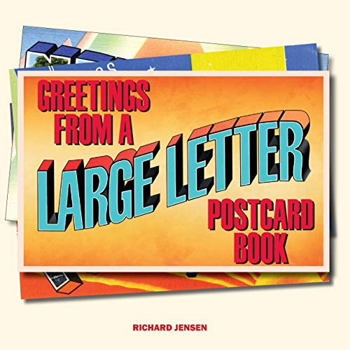 Greetings From: A Large Letter Postcard Book (English Edition)