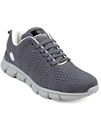 Bacca Bucci Men Casual Sports Shoes AIR Trainers-Gym Walking Running Athletic Competition Knitted Textile Light Weight Sport Sneakers