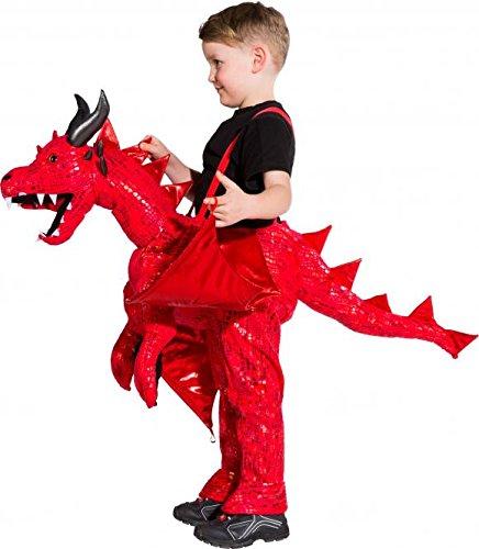 Dino Dinosaurier Drachenkostüm Chinesischer Drache Feuerdrache -