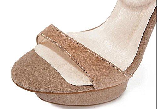 Beauqueen Plattform Peep-Toe Pumps Casual Work Sandalen Frauen Kn枚chelriemen Chunky Low Heel Elegantes Wei